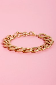 A Chain Would Do You Good Bracelet at Lulus.com!