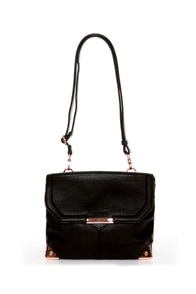Miss Popularity Black Purse by Urban Expressions at Lulus.com!