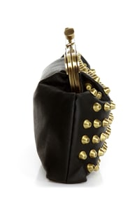 Outward Appearance Studded Black Purse at Lulus.com!
