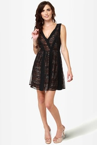 Copper-tunity Knocks Black Dress at Lulus.com!