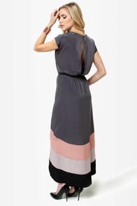 LULUS Exclusive Perfect Pitch Grey High-Low Wrap Dress at Lulus.com!