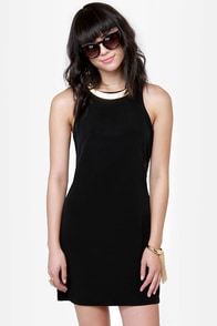 In the Mesh Black Cutout Dress at Lulus.com!