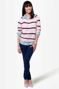 Quiksilver Lorne Cobalt Blue Skinny Jeans