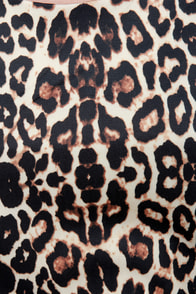 Skaters Gon' Skate Animal Print Dress at Lulus.com!