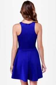 LULUS Exclusive Wanna Race? Royal Blue Dress at Lulus.com!