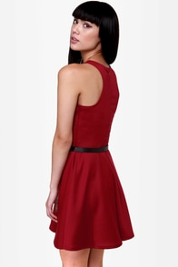 LULUS Exclusive Wanna Race? Red Dress at Lulus.com!