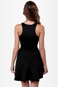LULUS Exclusive Wanna Race? Black Dress at Lulus.com!