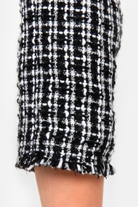 Paris Prep Black Boucle Jacket at Lulus.com!