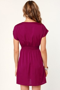 O'Neill Jackson Magenta Dress at Lulus.com!