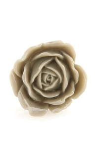 Zad Extreme Rose Grey Rose Ring at Lulus.com!
