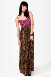 O\'Neill Dream Girl Mixed Prints Maxi Dress