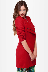 Fire Lily Red Coat