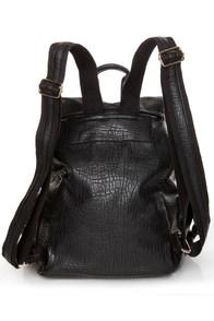Get In Shine Studded Black Backpack at Lulus.com!
