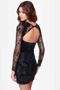 Somedays Lovin' Dark Eyes Lace Dress at Lulus.com!