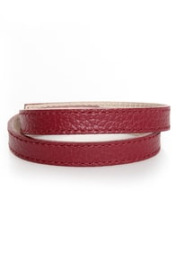 Wrist-y Business Leather Wrap Bracelet at Lulus.com!