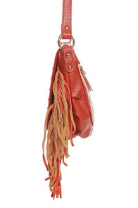 Tucson Traveler Orange Leather Purse at Lulus.com!