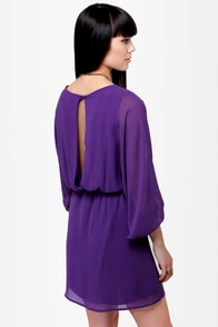 Wide Open Spaces Purple Dress at Lulus.com!
