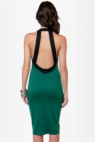 LULUS Exclusive Longing For Green Midi Dress at Lulus.com!