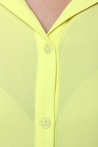 On Blockdown Chartreuse and Ivory Top at Lulus.com!