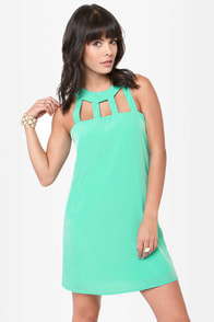 Passing the Bars Shift Dress at Lulus.com!