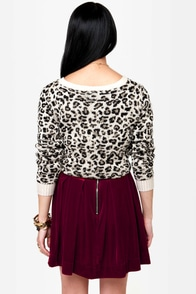 Royal Highness Wine Red Velvet Skirt at Lulus.com!