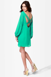 LULUS Exclusive Dream Weaver Sea Green Dress at Lulus.com!