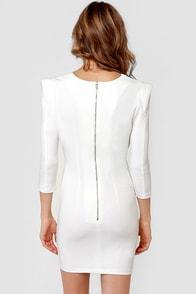 Walk of Fame Ivory Dress at Lulus.com!