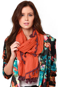 Gypsy Pepper Scarf at Lulus.com!