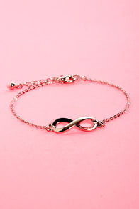 From Here to Eternity Silver Infinity Bracelet at Lulus.com!
