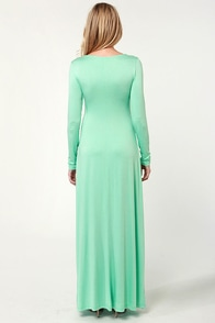 With a Twist Mint Green Maxi Dress at Lulus.com!