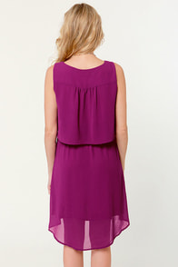 Top Tier Management Magenta Dress at Lulus.com!