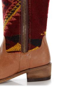 Steve Madden Graced Aztec Multi Southwest Print Cowboy Boots at Lulus.com!