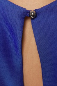 LULUS Exclusive Re-pleat After Me Royal Blue Dress at Lulus.com!