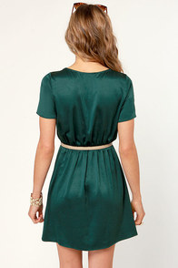 Sheath Will Be Loved Dark Teal Dress at Lulus.com!