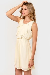 French Vanilla Cream Dress at Lulus.com!