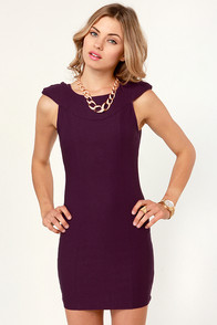 Clout and About Purple Backless Dress at Lulus.com!