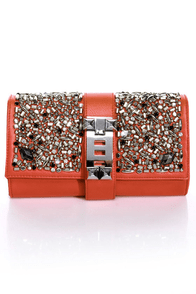 Orange Crush On You Clutch at Lulus.com!
