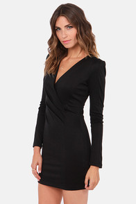 Foreign Film Black Dress at Lulus.com!