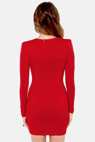 Foreign Film Scarlet Red Dress at Lulus.com!