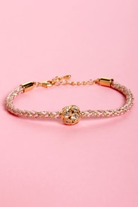 Golden Rules Friendship Bracelet at Lulus.com!