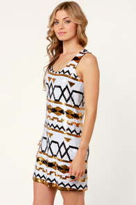 Sixth Magnifi-Sense Sequin Dress at Lulus.com!