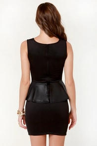 Rebel Clef Black Dress at Lulus.com!