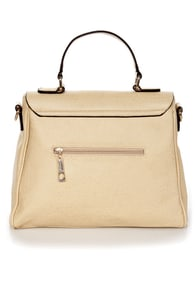 Seal the Deal Beige Handbag at Lulus.com!