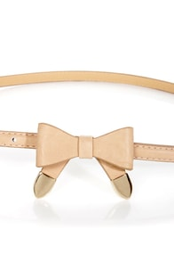 Styling Tips Skinny Bow Belt at Lulus.com!