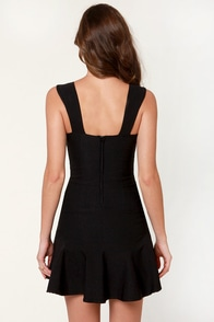 Rose in Your Teeth Black Dress at Lulus.com!