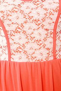 Bringin' Maxi Back Strapless Orange Maxi Dress at Lulus.com!