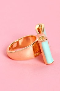 Present Day Bow Ring at Lulus.com!