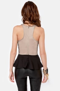 Ready Ornate Embroidered Black Top at Lulus.com!