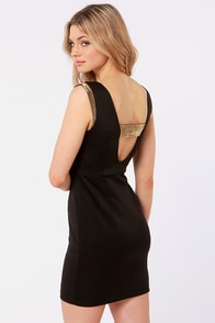 LULUS Exclusive Contessa Beaded Black Dress at Lulus.com!