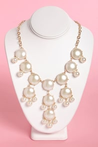 Pearls Gone Wild Pearl Necklace at Lulus.com!